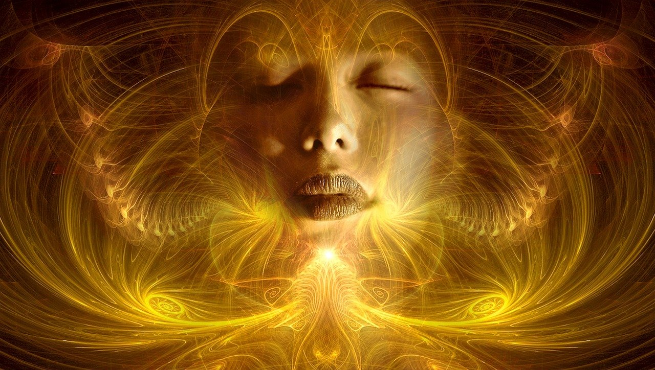 femme spirituelle